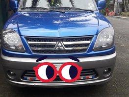Selling Blue Mitsubishi Adventure 2014 in Rizal