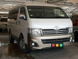 2nd Hand Toyota Hiace 2013 Automatic Diesel for sale in Parañaque