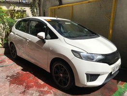 2nd Hand Honda Jazz 2015 Manual Gasoline for sale in Quezon City