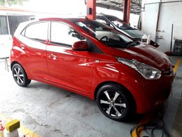 Selling Red Hyundai Eon 2016 Hatchback in Quezon City