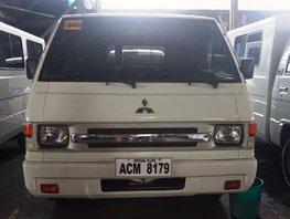 Selling White Mitsubishi L300 2016 Van Manual Diesel in Manila