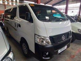 White Nissan Nv350 Urvan 2017 for sale in Quezon City