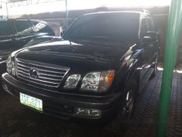 Sell Black 2007 Lexus Lx in Manila