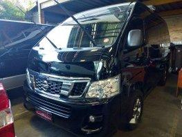 Sell Black 2017 Nissan Nv350 Urvan in Quezon City