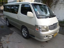 Selling 2nd Hand Toyota Hiace 2002 at 120000 km in Meycauayan