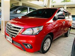 Red 2015 Toyota Innova Automatic Diesel for sale in Isabela