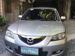 Selling Silver Mazda 3 2008 Automatic Gasoline at 71000 km in Taguig