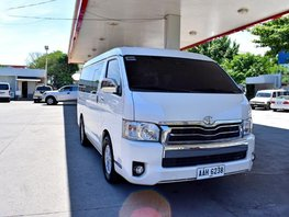 Sell 2nd Hand 2014 Toyota Hiace at 40000 km in Lemery
