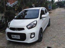 Selling White Kia Picanto 2015 Manual Gasoline at 30000 km in Tagbilaran