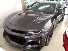 Selling Black Chevrolet Camaro 2017 at 40000 km in Quezon City