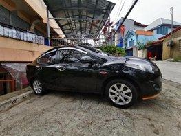 Sell Black 2012 Mazda 2 Sedan Automatic Gasoline at 85000 km in Baguio