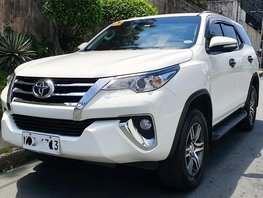White 2017 Toyota Fortuner Diesel Automatic for sale