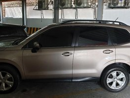 Sell 2nd Hand 2015 Subaru Forester Automatic Gasoline at 17000 km in Quezon City