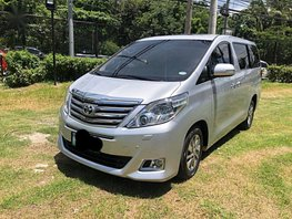 2nd Hand Toyota Alphard 2012 for sale in Pasay