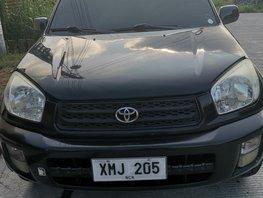 Sell Black 2003 Toyota Rav4 Manual Gasoline