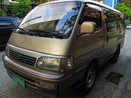 Selling 2nd Hand Toyota Hiace 1995 Automatic Diesel at 80000 km in Manila