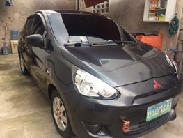 Used Mitsubishi Mirage 2013 Hatchback for sale in Pampanga