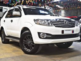 White 2016 Toyota Fortuner Diesel Automatic for sale in Quezon City
