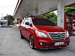 Red 2016 Toyota Innova for sale in Lemery