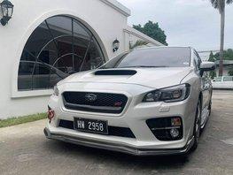 Pearl White 2015 Subaru Wrx Sti at 14000 km for sale