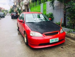 2nd Hand Honda Civic 2001 for sale in Quezon City