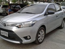 2nd Hand Toyota Vios 2015 Manual Gasoline for sale in Mandaue