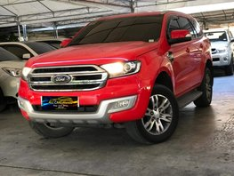 2nd Hand Red 2016 Ford Everest for sale
