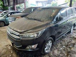 Selling Black Toyota Innova 2016 at 42000 km in Makati