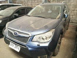 Sell Blue 2014 Subaru Forester at 62000 km in Makati