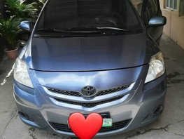 Selling Blue Toyota Vios 2007 Manual Gasoline