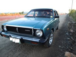 Blue Toyota Corolla 1978 Sedan Manual Gasoline for sale