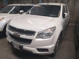 White Chevrolet Trailblazer 2016 at 43000 km for sale