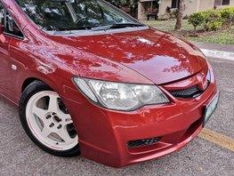 Red 2006 Honda Civic Sedan for sale in Pampanga
