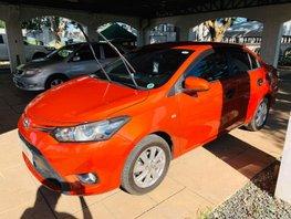 Orange 2016 Toyota Vios for sale in Isabela