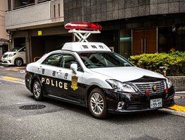 Top 5 of the coolest police cars from Japanese brand that will blow you away