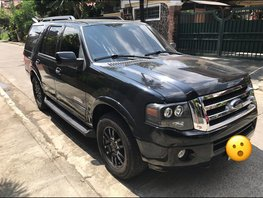 Black Ford Expedition 2008 at 85000 km for sale in Cainta