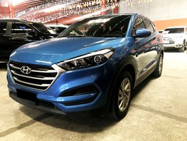 Blue 2016 Hyundai Tucson Automatic Diesel for sale