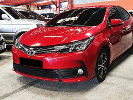 Sell Red 2018 Toyota Corolla Altis at 9000 km in Quezon City