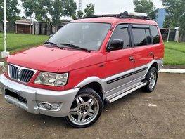 Red Mitsubishi Adventure 2003 for sale in Manila