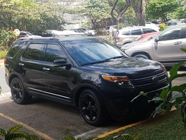 Selling Black Ford Explorer 2013 at 24000 km in Taguig