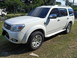White Ford Everest 2013 Manual Diesel for sale in Manila