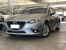 Silver 2015 Mazda 3 Sedan Automatic Gasoline for sale