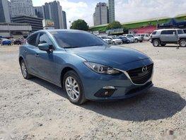 Selling Blue Mazda 3 2016 Automatic Gasoline in Manila