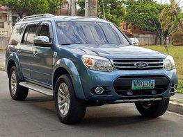 Blue Ford Everest 2008 Automatic Diesel for sale in Manila