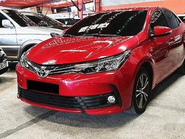 Selling Red Toyota Corolla Altis 2018 Automatic Gasoline in Quezon City