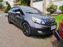 Sell Grey 2014 Kia Rio Sedan in Manila