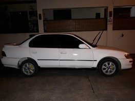 White Toyota Corolla 1996 Sedan for sale in Laguna
