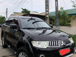 Sell Black 2012 Mitsubishi Montero Sport at 70000 km