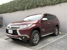 Red 2017 Mitsubishi Montero Sport at 9000 km for sale