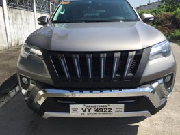 Selling Used Toyota Fortuner 2017 at 20000 km in Angeles